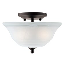 Wensley 2 Light Semi-Flush Mount