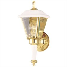 Exterior 1 Light Wall Lantern (Set of 2)