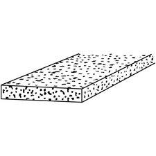 "0.5"" x 36"" Fiber Moulding Strips (18 Count)"
