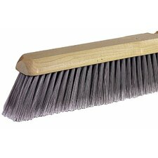 "Fine Sweeping Brushes - 24"" fine sweep floor brush blach horsehair"