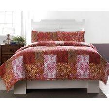 Leslie Quilt Set in Multi Colored