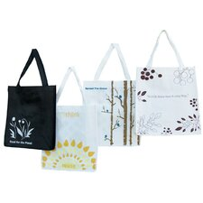 Eco Shopping Tote (Set of 4)