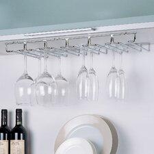 Shelf Mount Wine Glass Rack