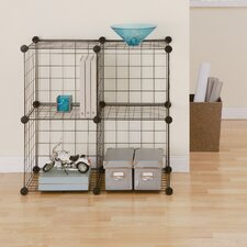 "Wire Cube 30"" Shelving Unit (Set of 4)"