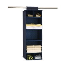 "12"" Deep Closet Organizer with Shelves and Cubbies (Set of 2)"