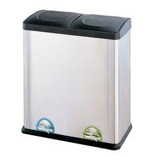15.85 Gallon Step-On Multi Compartment Recycling Bin