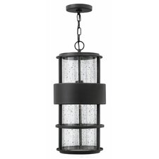 Saturn 1 Light Outdoor Hanging Lantern