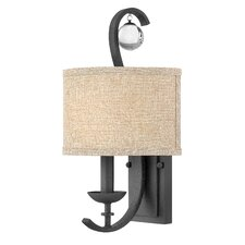 """9.5"""" Marion Fabric Drum Wall Sconce Shade"""