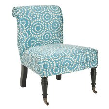 Matthew Fabric Slipper Chair