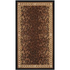 Chelsea Black & Brown Area Rug