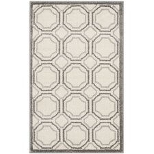 Amherst Ivory & Light Grey Indoor/Outdoor Area Rug