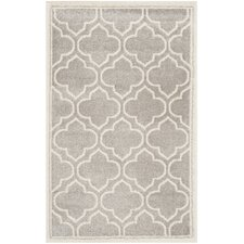 Amherst Light Grey & Ivory Outdoor Area Rug