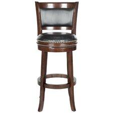 "Brockway 29"" Swivel Bar Stool with Cushion"