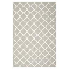 Dhurries Grey/Ivory Area Rug