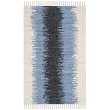 Montauk Grey & Black Contemporary Rug