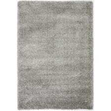 California Silver Shag Area Rug
