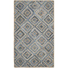 Cape Cod Natural & Blue Area Rug