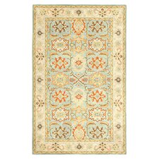 Heritage Light Blue & Ivory Area Rug