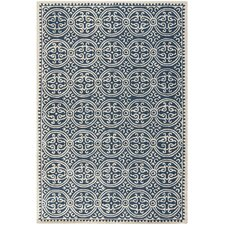 Cambridge Navy Blue & Ivory Area Rug