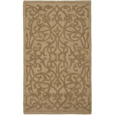 Impressions Modern Light Brown Area Rug