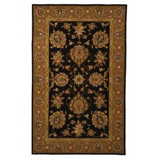 Traditions Masterpiece Black/Gold Area Rug