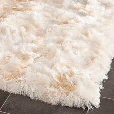 Paris Ivory Shag Area Rug