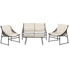 Berkane 4 Piece Deep Seating Group with Cushions