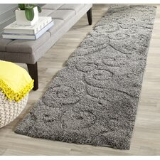 Florida Swirl Grey Area Rug
