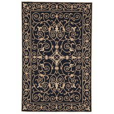Chelsea Black & Iron Gate Area Rug