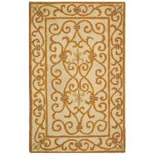 Chelsea Ivory & Gold Area Rug