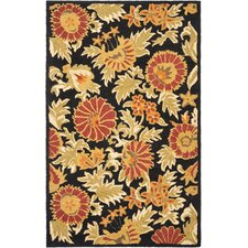 Blossom Black/Multi Area Rug