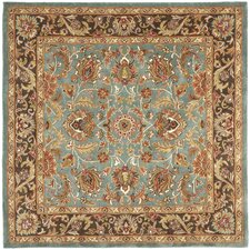 Heritage Blue & Brown Area Rug