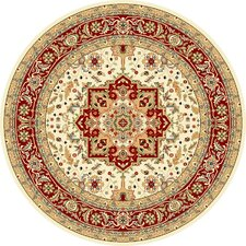 Lyndhurst Ivory/Red Area Rug