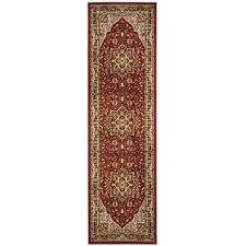 Lyndhurst Mary Red & Black Area Rug