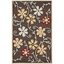 Blossom Brown/Multi Area Rug