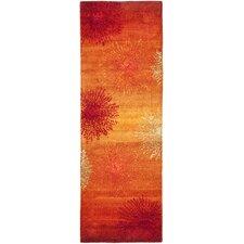 Soho Rust & Orange Area Rug