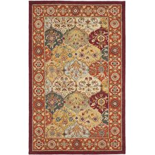 Heritage Orange Area Rug
