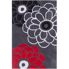 Modern Art Dark Gray/Multi Rug