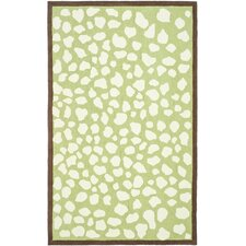 Kids Green & Ivory Area Rug