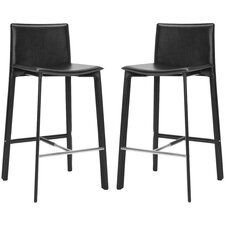 "Journey 30"" Bar Stool with Cushion (Set of 2)"