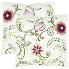 Esmeralda Cotton Throw Pillow (Set of 2)