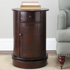 Toby Swivel Oval 1 Drawer Cabinet