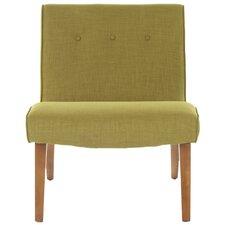 Mandell Slipper Chair in Green
