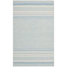 Kilim Light Blue/Ivory Traditional Area Rug