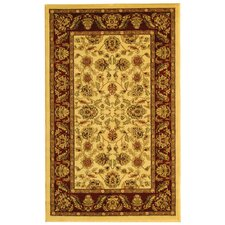 Lyndhurst Cream/Red Area Rug