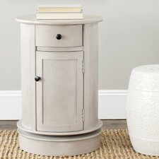Toby Swivel Oval 1 Drawer Cabinet
