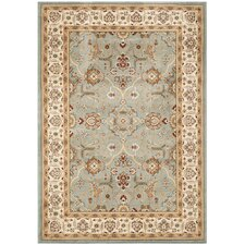 Majesty Blue / Creme Traditional Rug