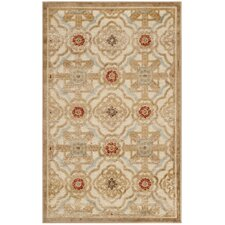 Martha Stewart Imperial Palace Taupe/Cream Area Rug