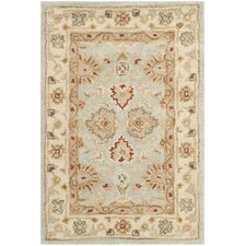 Antiquity Blue & Beige Area Rug