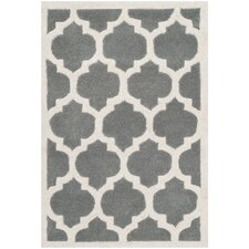 Chatham Dark Grey & Ivory Moroccan Area Rug
